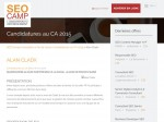 Cladx : Profession de Foi de Alan Cladx pour le SeoCamp - photo 1