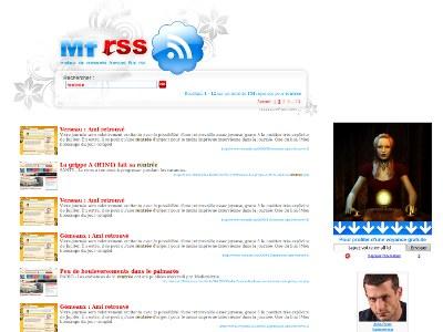 Moteur de flux RSS mainstream